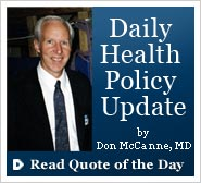 Don McCanne's Quote of the Day