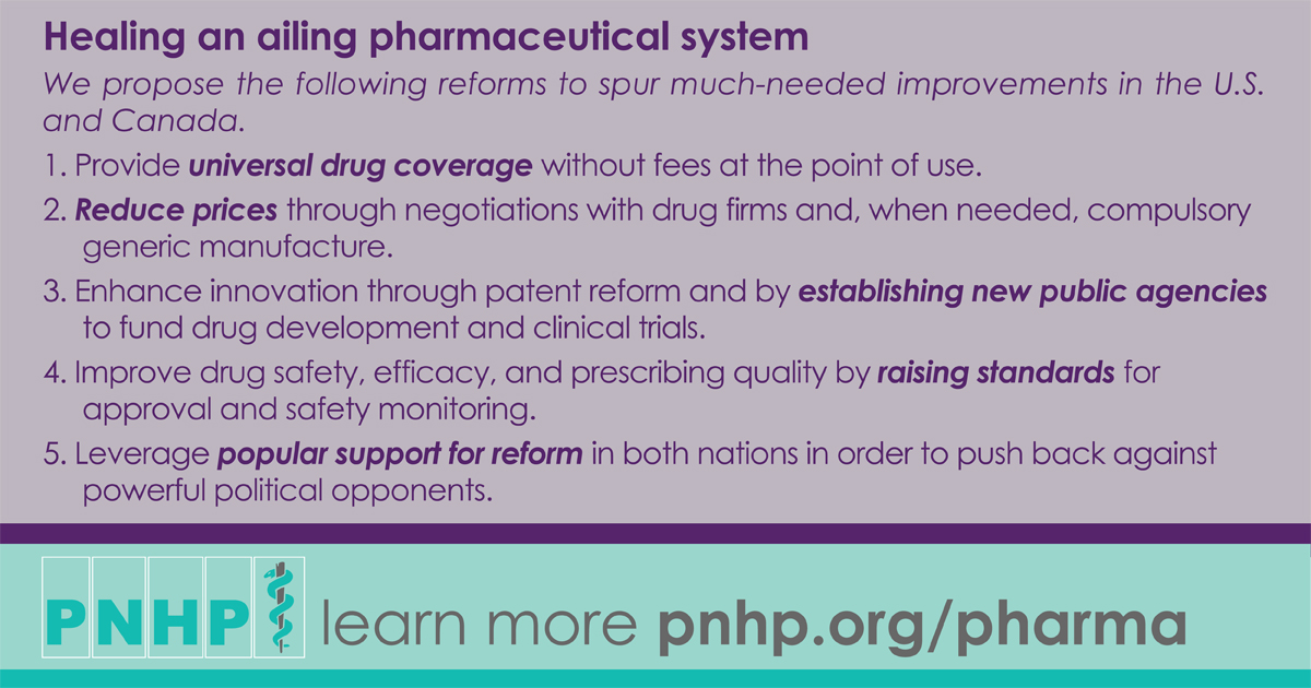 Healing An Ailing Pharmaceutical System Prescription For Reform For